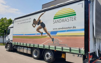 Sandmaster bekommt neuen LKW