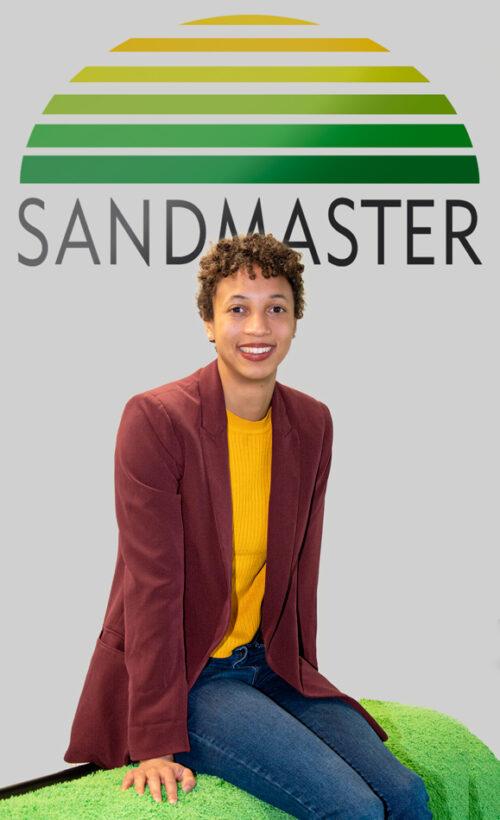 Sandmaster unterstützt Malaika Mihambo