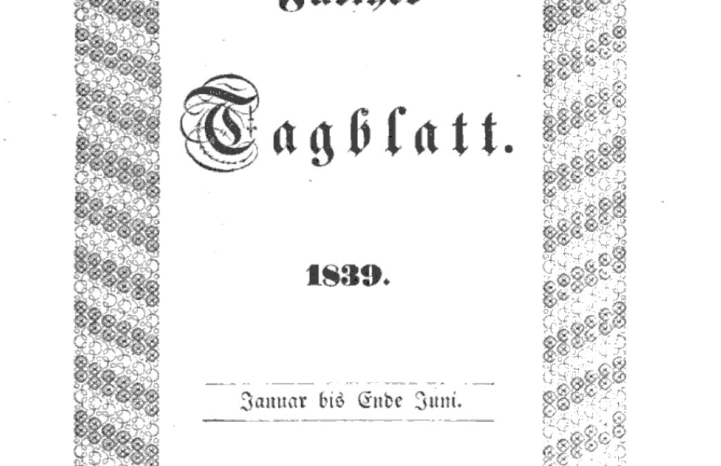 Die erste Sandreinigung wurde bereits 1839 erwähnt
