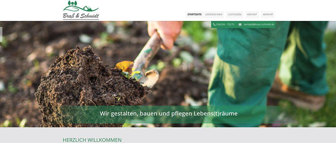 Sandmaster-Partner BRAß & SCHMIDT neue Internetpräsenz