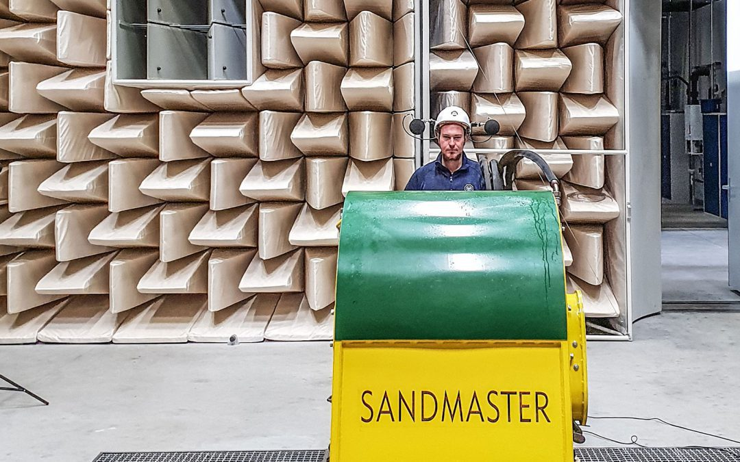 Sandmaster beim TÜV-Süd