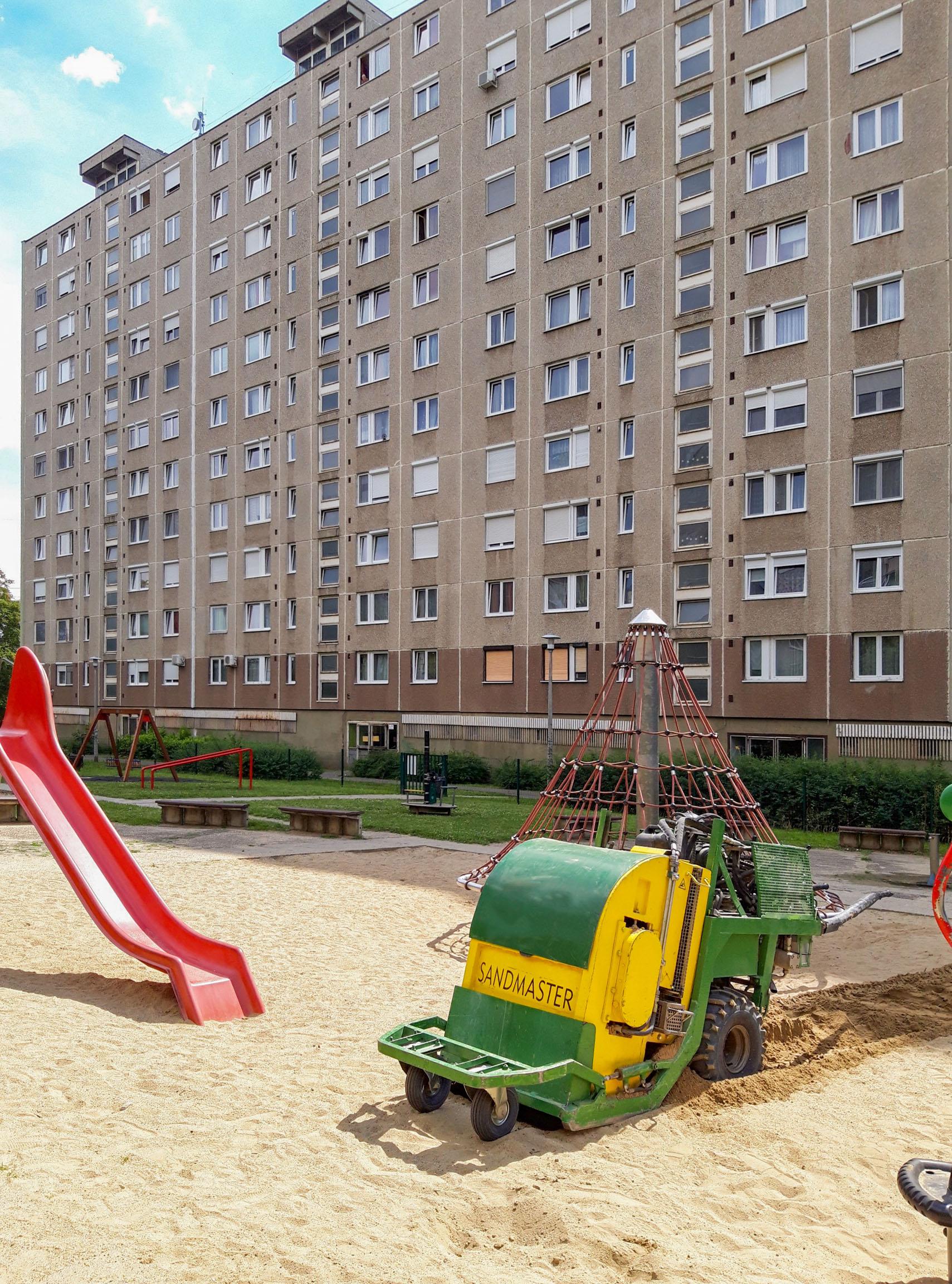 SANDMASTER ist jetzt in Ungarn tätig