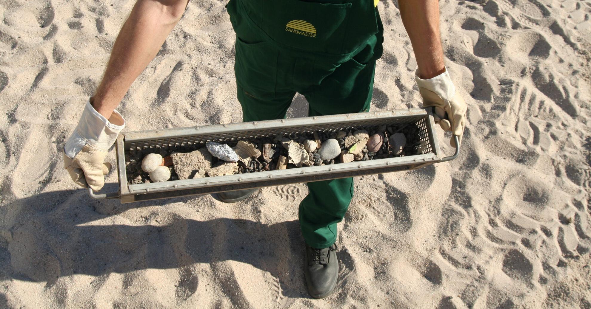 Sandreinigung: Wie wichtig ist die Reinigungstiefe?