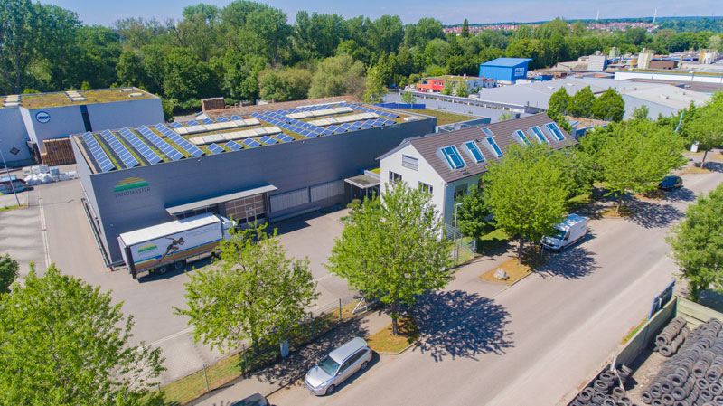 Building of Sandmaster GmbH