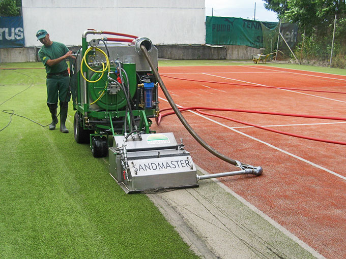 Tennis NETTOYAGE HYDRAULIQUE