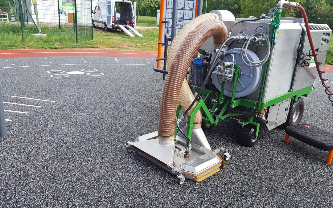 Sandmaster Wassermaschine HDR200 – Perfekte Reinigung kleiner Flächen