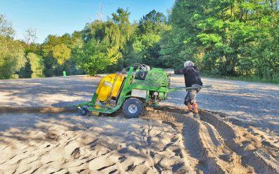 Sandreinigung nach dem Sandmasterverfahren