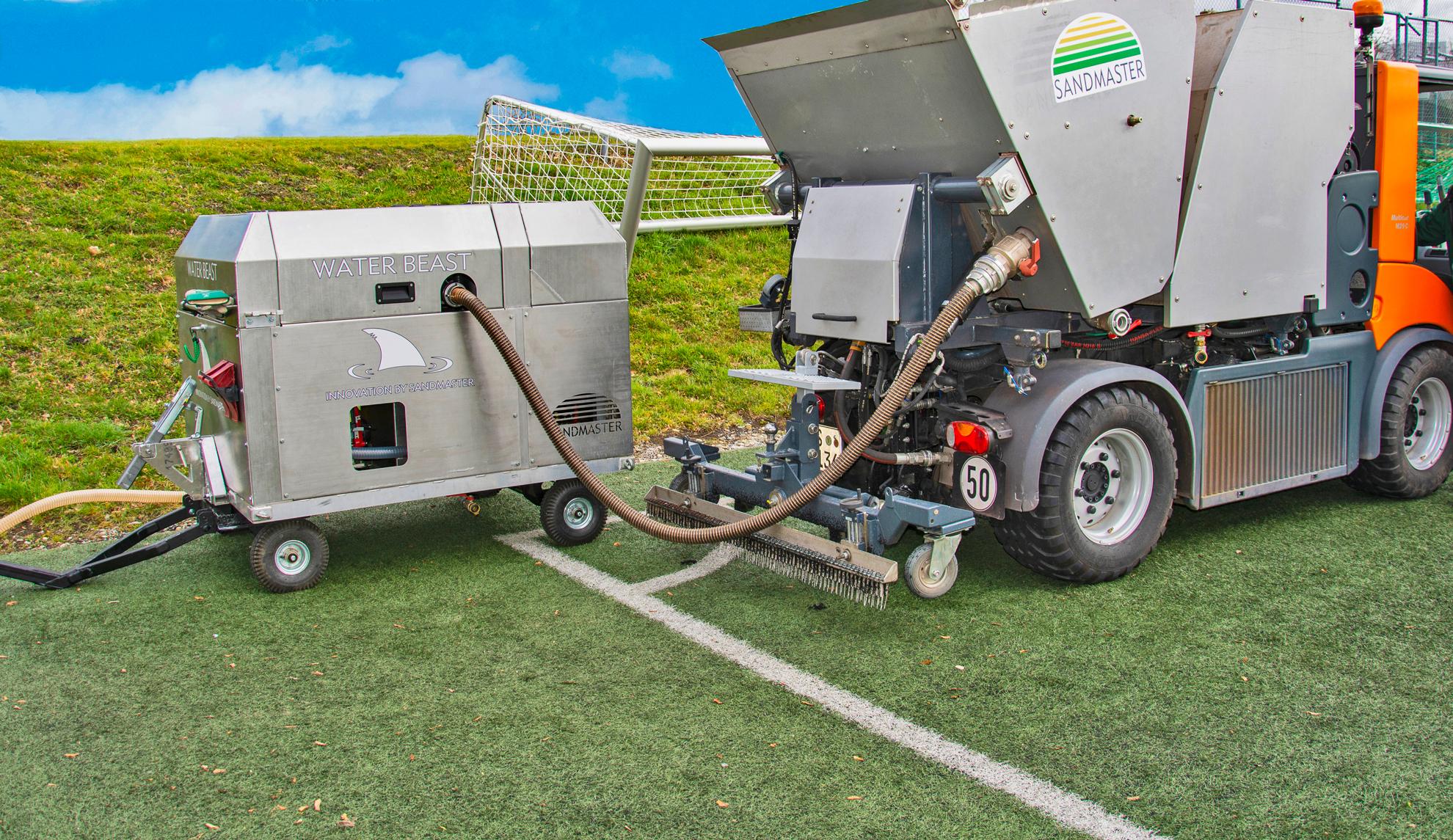 Sandmaster präsentiert nachhaltiges Wasserfiltersystem