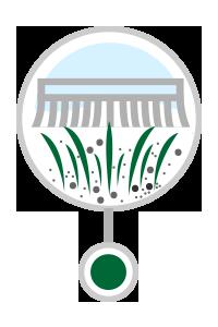 Artificial turf full wash - finishing / stripping
