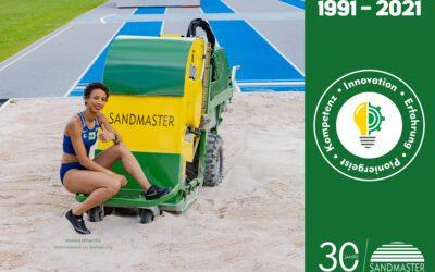 Sandmaster feiert 30-jähriges Firmenjubiläum
