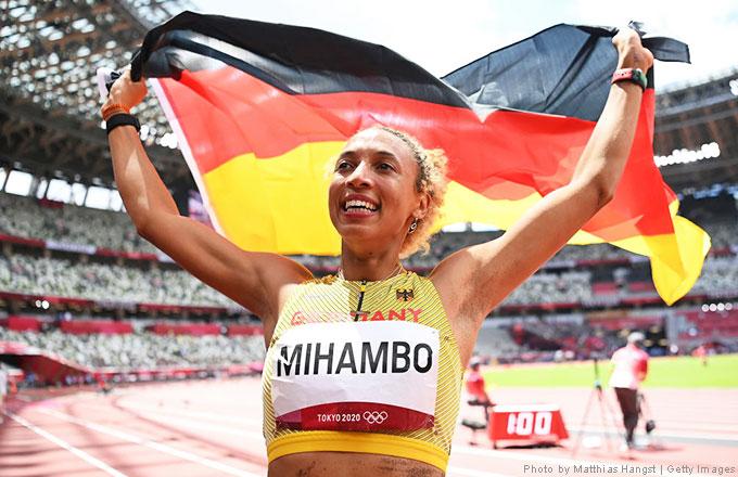 Malaika Mihambo gewinnt Olympiagold, Photo by Matthias Hangst | Getty Images